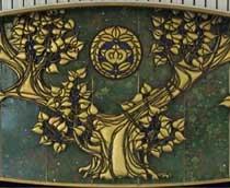菩提樹の彫金