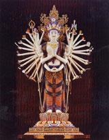 十一面千手千眼観自在菩薩像