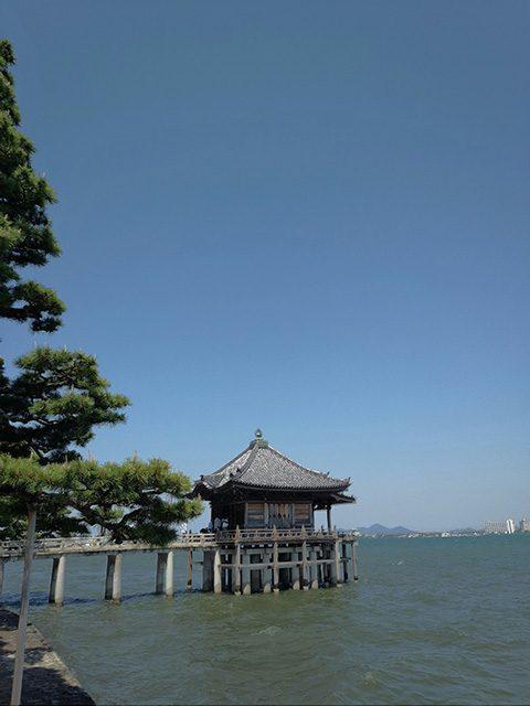 滋賀県大津市堅田(投稿者:おたすき狸のお父さん)