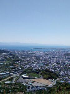 静岡県清水の『高山』から市街地を眺める(投稿者:清水の二児のパパ)