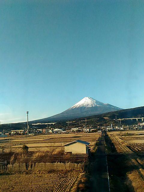 新幹線の中から(投稿者:友里江)