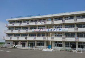 宮城県の荒浜小学校(投稿者:東京都 H.O)