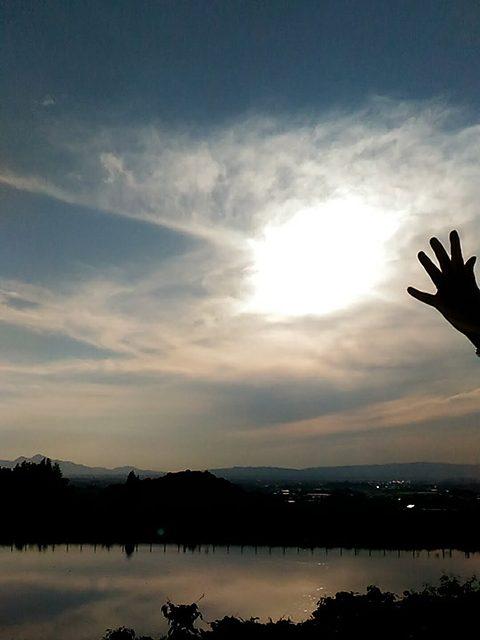 檜原神社より二上山を望む(投稿者:友里江)