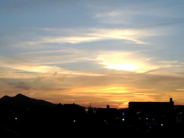 教会より西の空を望む(投稿者:友里江)