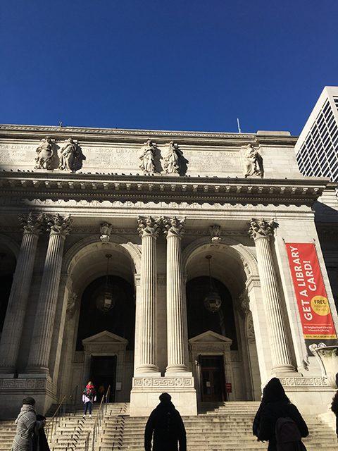 ニューヨーク市立図書館(投稿者:まーちゃん)