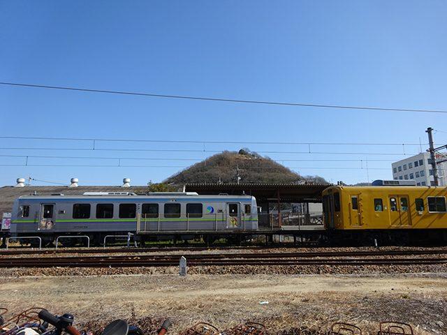 神辺駅からの神辺城です。(投稿者:不明)