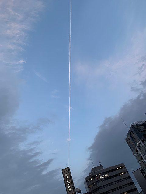 天満橋上空(投稿者:そごにゃん)