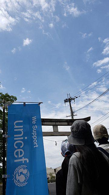 滋賀県近江八幡市日牟禮八幡宮前(投稿者:おたすきタヌキのお父さん)
