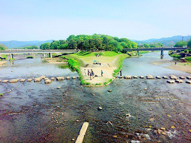 京都府・鴨川と賀茂川(投稿者:おりひめ☆)