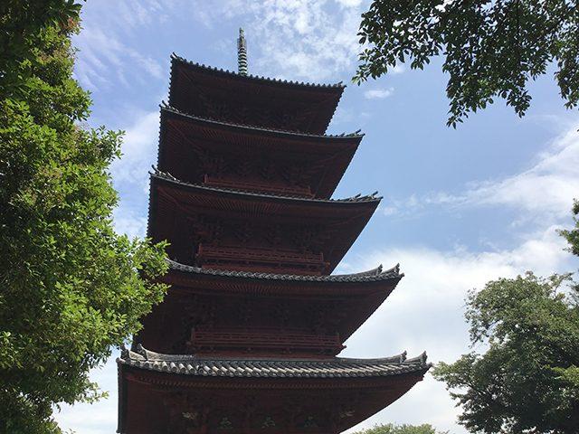 池上本門寺五重の塔(投稿者:恭司&晃史&昌孝)