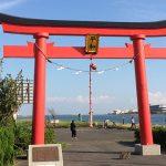 東京・旧穴守稲荷神社 大鳥居(投稿者:黄色いバラ)