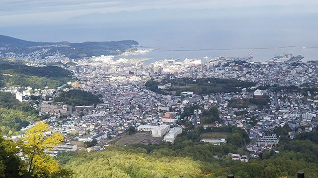 北海道小樽天狗山(投稿者:虹色)