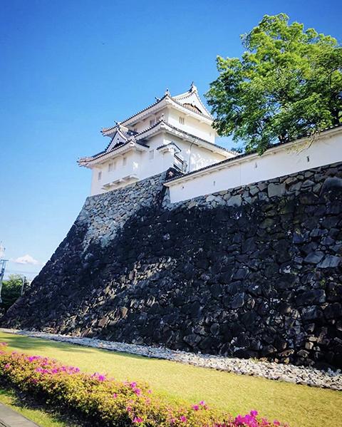 山梨県・甲府城(投稿者:黄色いバラ)
