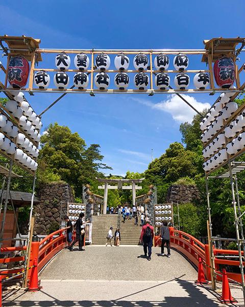 山梨県・武田神社(投稿者:黄色いバラ)