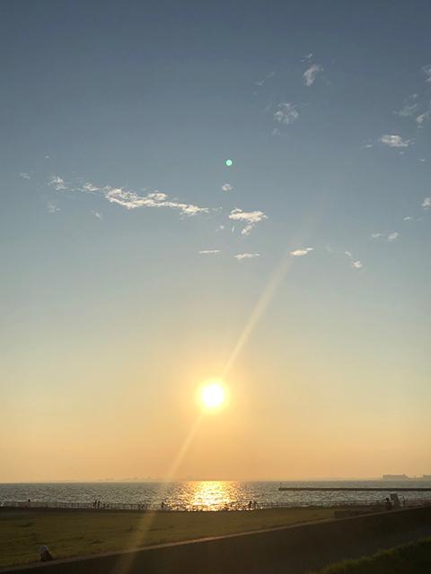 千葉市幕張海岸(投稿者:あき)
