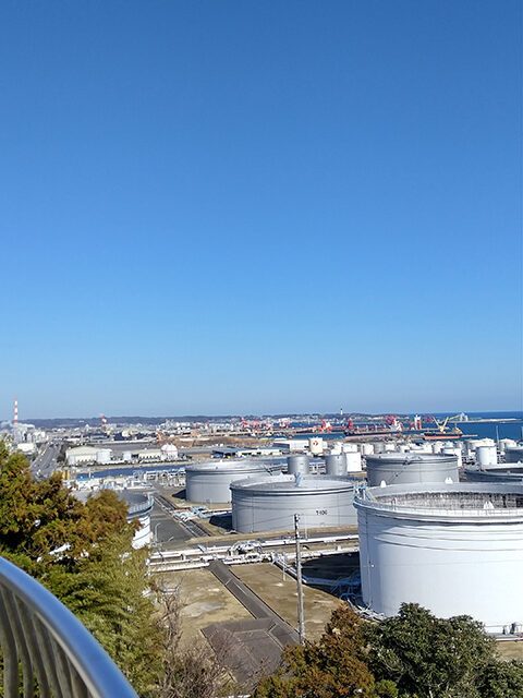 小名浜港を望む展望台(投稿者:伊藤順朗)